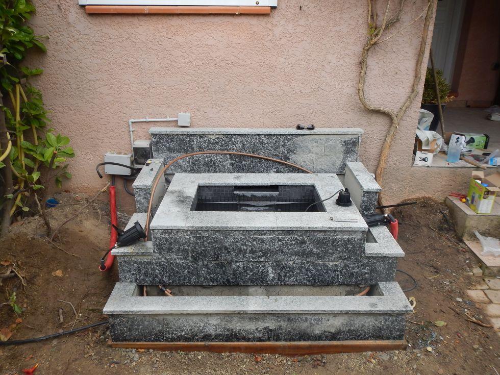 Fontaine bassin paysagiste aix en provence jeanselme for Fontaine bassin